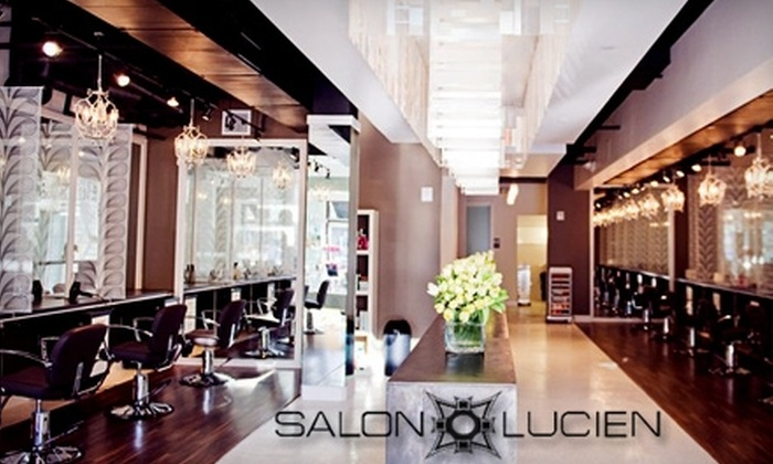 Salon Lucien - Farmers Branch: $29 for $75 Worth of Hair Services at Salon Lucien
