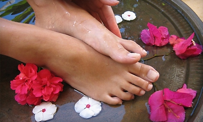 Bliss Salon & Spa - Turlock: Spray Tan or Pedicure at Bliss Salon & Spa
