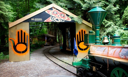 Klahowya Village: One Ride on The Spirit Catcher Train for Two Adults - Klahowya Village in Stanley Park in Vancouver