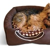 2-in-1 Convertible Pet-Bed and House with Bonus Pet Pillow