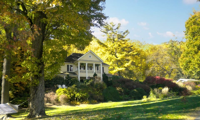 The Yellow House Bed & Breakfast - Waynesville, NC: 2-Night Stay for Two at The Yellow House Bed & Breakfast in Waynesville, NC