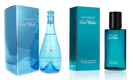 Davidoff Cool Water Men's or Women's Eau de Toilette. Multiple Sizes Available from $19.99–$34.99.