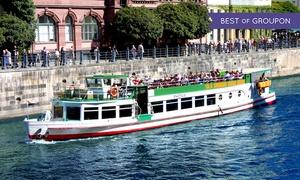 Spree & Havelschiffahrt Reederei Grimm & Lindecke: Schifffahrt auf der Spree für Zwei oder Vier mit Spree- & Havelschifffahrt Reederei Grimm & Lindecke (50% sparen*)