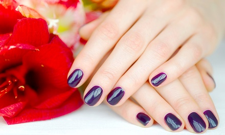 Acrylic Nail Infill ($27) or Full Set of Acrylic Nail Tips ($30) at Beauty On The Terrace (Up to $50 Value)