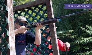 Triple B Clays: $125 for a Clay-Shooting Package with Instruction for Two at Triple B Clays (Up to $314 Value)