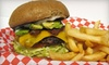 Mercury Grill & Catering - Kearny Mesa: $7 for a Burger Lunch for Two at Mercury Grill & Catering (Up to $15.90 Value)