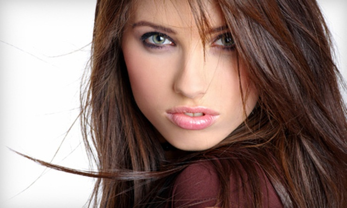 Masters Salon - Granger: Haircut Package with Optional Partial or Full Highlights at Masters Salon in Granger (Up to 58% Off)