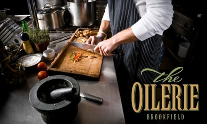 The Oilerie Brookfield - Brookfield: $25 Cooking Class at The Oilerie Brookfield ($45 Value)