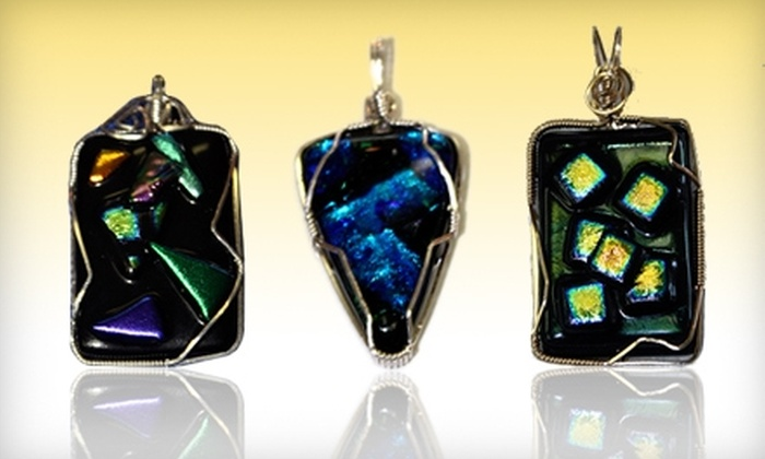 Grand Central Stained Glass & Graphics - St. Petersburg: $35 for a Fused-Glass Pendant-Making Workshop at Grand Central Stained Glass & Graphics in St. Petersburg ($75 Value)