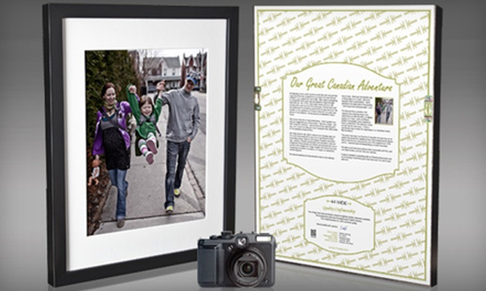 44 Wide: $79 for Camera-to-Frame Package from 44 Wide ($280 Value)