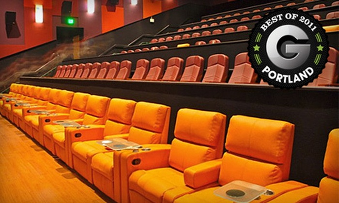 Cinetopia - Multiple Locations: $18 for Movie Outing for Two with a Large Popcorn at Cinetopia (Up to $50 Value)