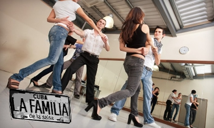 La Familia de la Salsa - Multiple Locations: $21 for Six Beginner Group Salsa Lessons at La Familia de la Salsa ($42 Value)