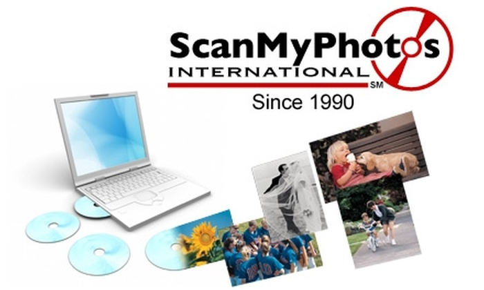 "ScanMyPhotos.com: $29 for 1,000 4""x6"" Photos Converted to DVD with Return Shipping Included from ScanMyPhotos.com ($84 Value)"
