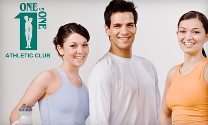 One on One Athletic Club - Bryant Pattengill East: $19 for a One-Month Fitness-Only Membership Plus 6 Hours of Classes at One on One Athletic Club in Ann Arbor