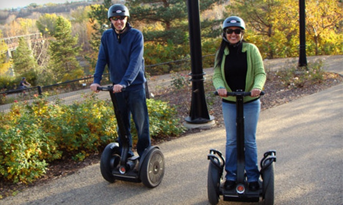 River Valley Adventure Co. and Segway Edmonton - Riverdale: $25 for a One-Hour Segway Adventure from River Valley Adventure Co. and Segway Edmonton ($49.99 Value)