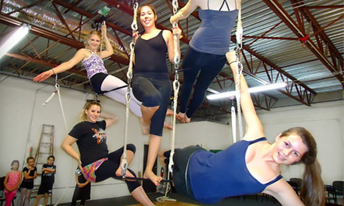 BB's Dance & Circus Arts of Tampa Bay - Clearwater: $25 for a Two-Hour Trapeze Class at BB's Dance & Circus Arts of Tampa Bay in Clearwater ($50 Value)
