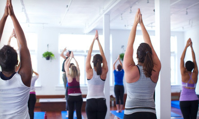 Circuit Of Change - Circuit Of Change: 5 or 10 Mind-Body Boot Camp or Circuit Power Yoga Classes at Circuit Of Change (Up to 76% Off)