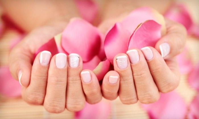 Jillian's Salon and Spa - Clinton: $15 for a Manicure with Shellac Polish or $20 for a Shampoo, Cut, and Blow-Dry at Jillian's Salon