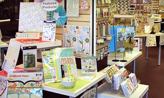 Scrap Arts - North Vancouver: 2-Hour Scrapbooking Classes or $10 for $20 Worth of Scrapbooking Supplies at Scrap Arts in North Vancouver