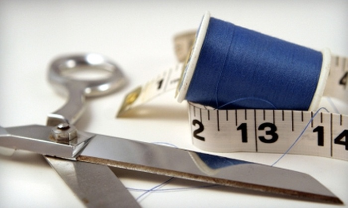 SewJessica - Burbank: $39 for a Two-Hour Private In-Home Sewing Lesson from SewJessica ($80 Value)
