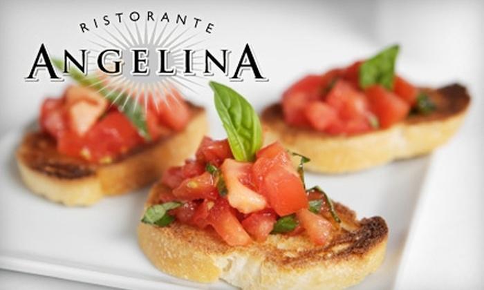 Angelina Ristorante - Chicago: $20 for $40 Worth of Italian Cuisine at Angelina Ristorante