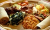 Blue Nile Cafe - Multiple Locations: Authentic Ethiopian Dinner for Two or Four at Blue Nile Cafe in Kansas City or Overland Park (Up to 54% Off)