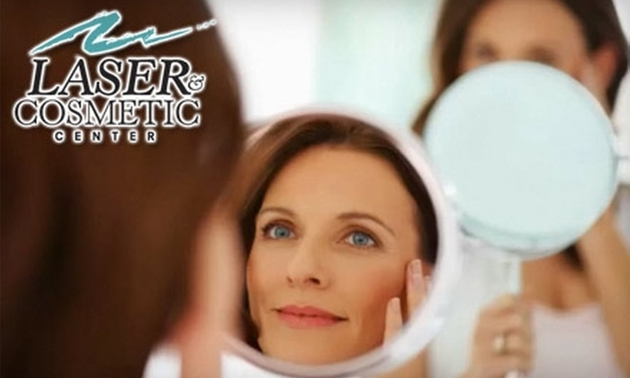 Laser & Cosmetic Center - Lawrence: $149 for Three Sessions of Laser Hair Removal on One Area at Laser & Cosmetic Center in Lawrence (Up to $600 Value)