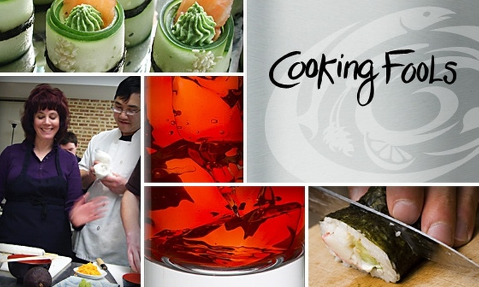 Cooking Fools - Chicago: $50 Cooking Fools Class and Dinner ($84 Value)