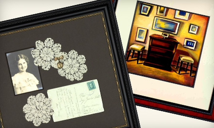 A Framer's Touch - Cornelius - Forest Grove: $49 for $100 Worth of Custom Framing at A Framer's Touch in Forest Grove