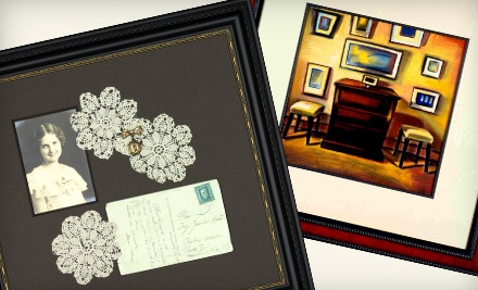 $100 Groupon to A Framer's Touch - A Framer's Touch in Forest Grove