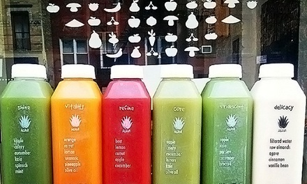 One, Two, or Three Days of the Juice Cleanse at Agavi Organic Juice Bar (Up to 56% Off)