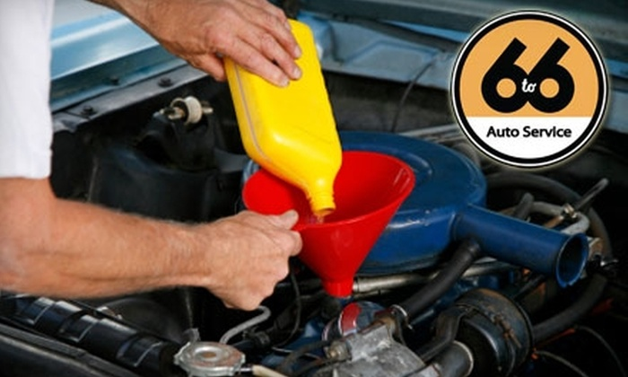 6 to 6 Auto Service and Sales - Downtown: $9 for One Standard-Service Oil and Filter Change at 6 to 6 Auto Service and Sales ($26.95 Value)