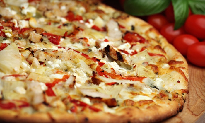 The Brothers Three - Appleton: One Large Specialty Pizza and Garlic Bread or One Large Two-Topping and One Large Specialty Pizza at The Brothers Three