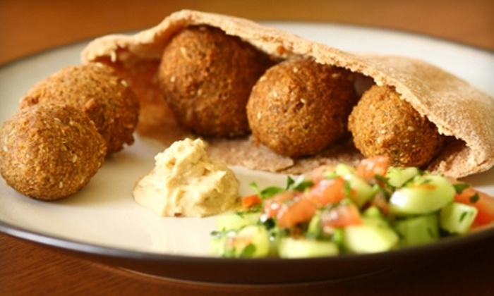 Leila Café - Philadelphia: $5 for $10 Worth of Middle Eastern Fare or $14 for Hookah Rental and $10 Worth of Fare ($28 Value) at Leila Café