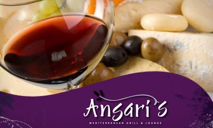 Ansari's Mediterranean Grill & Lounge - Eagan: $10 for $20 Worth of Mediterranean Cuisine and Drinks at Ansari's Mediterranean Grill & Lounge