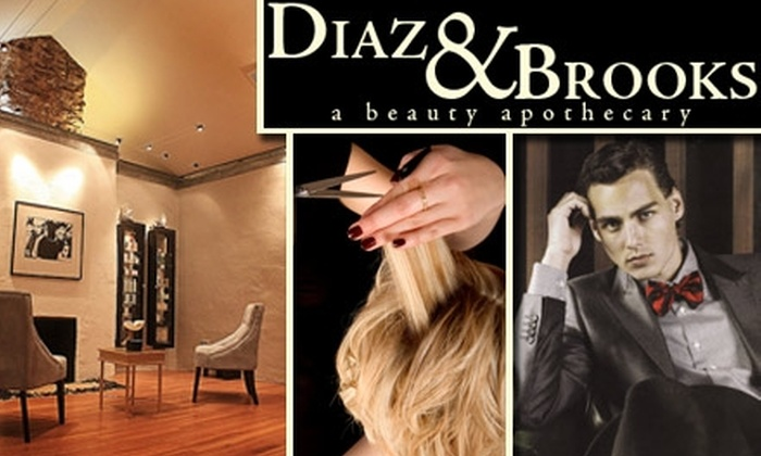 Diaz & Brooks - Rosedale: $99 for a Haircut, Partial Highlight, and Gloss at Diaz & Brooks