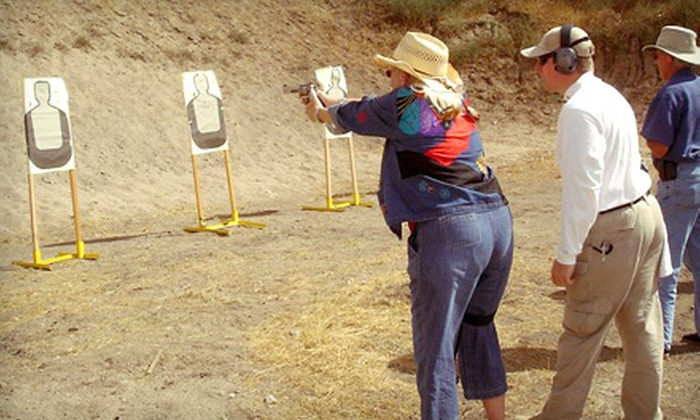 Warriorschool - Ward 6: Shooting-Range Package with Safety Class, Handgun Rental, and Range Time for One or Two at Warriorschool (Up to 59% Off)