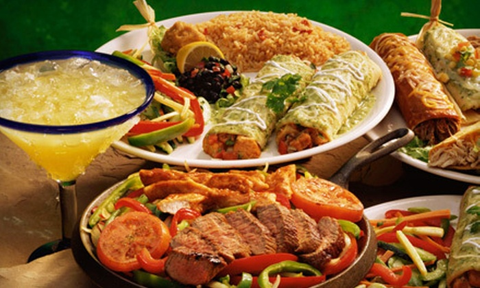 El Parral Mexican Restaurant - Multiple Locations: Dinner for Two with Margaritas or $12 for $25 Worth of Mexican Fare for Lunch at El Parral Mexican Restaurant