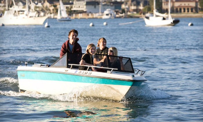 Oceanside Boat Rentals - Townsite: Kayak, Electric-Boat, or Powerboat Rental from Oceanside Boat Rentals (Up to 57% Off)