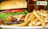 Max Lager's American Grill & Brewery / Brewed to Serve Restaurant Group, Inc. - Downtown: $5 for a Beef or Bison Burger at Max Lager's Wood-Fired Grill & Brewery (Up to $12 Value)