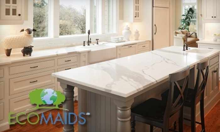 EcoMaids - Dayton: $49 for One Environmentally Friendly House-Cleaning Package from EcoMaids Dayton ($110 Value)