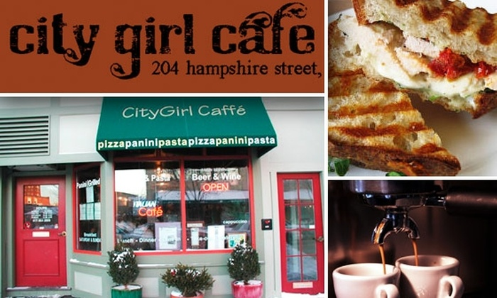 City Girl Cafe - Inman Square: $15 for $35 Worth of Authentic Italian Food at City Girl Cafe
