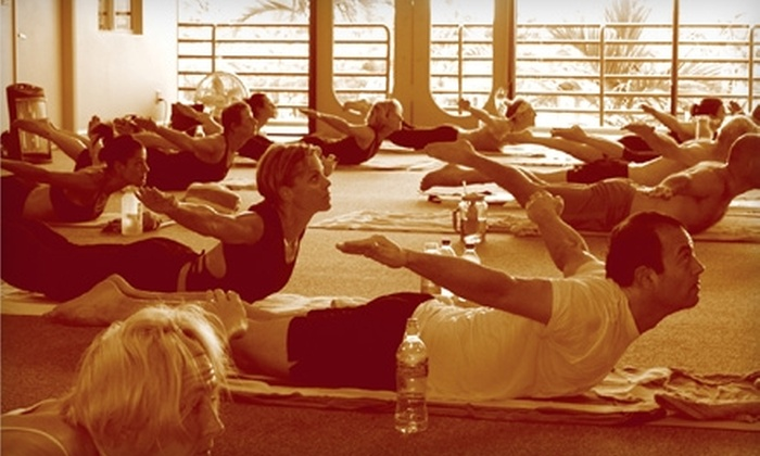 Bikram Yoga Boca Raton - Estancia of Via Verde South: $49 for One Month of Unlimited Classes at Bikram Yoga Boca Raton ($190 Value)