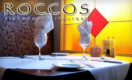 Roccos Ristorante Italiano: $20 Groupon for Lunch - Roccos Ristorante Italiano in Dartmouth