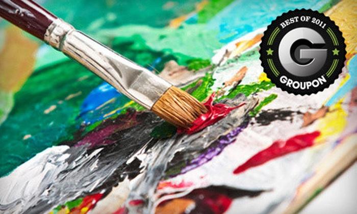 Cajun Canvas - Charlotte: $17 for a BYOB Painting Class at Cajun Canvas ($35 Value)