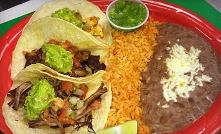 $20 Groupon for Lunch - El Pueblo Folsom in Folsom