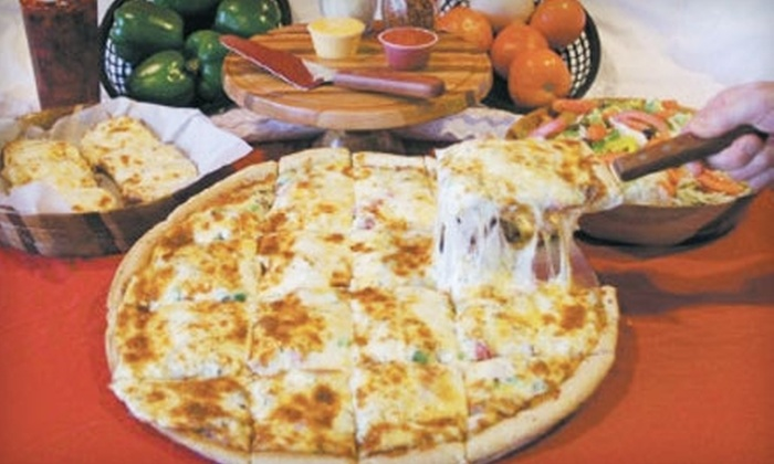 Gallagher's Pizza Express - Perry: $10 for $20 Worth of Pizza, Sandwiches, Wings, and More at Gallagher's Pizza Express