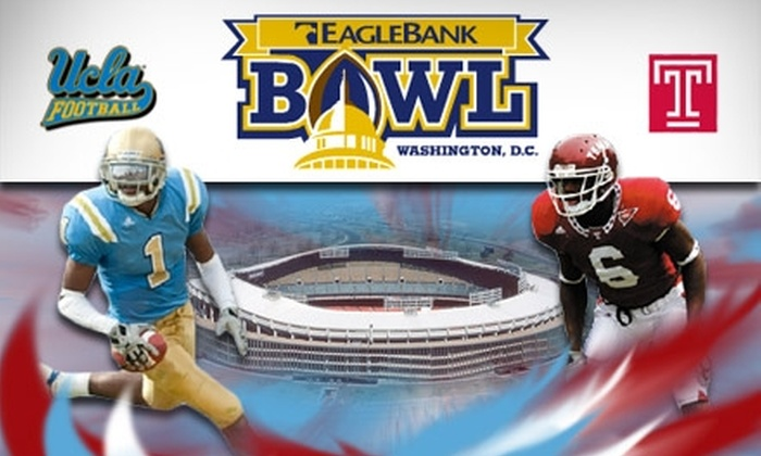 EagleBank Bowl - Capitol Hill: $35 Ticket to the EagleBank Bowl in the All-Star Seating Section, Plus All-You-Can-Eat Tailgating ($70 Value)
