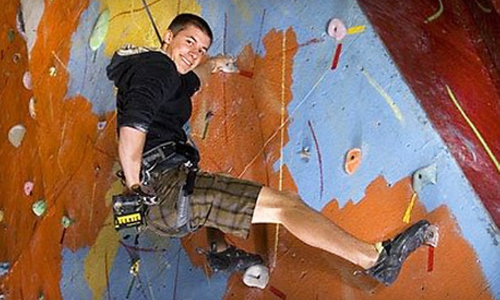 Stronghold Gym - The Congaree Vista: $18 for Two Rock-Climbing Day Passes with Equipment Rental and Gym Access at Stronghold Gym ($36 Value)