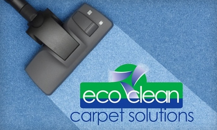Eco Clean Carpet Solutions - Knoxville: $75 for $150 Worth of Carpet Cleaning from Eco Clean Carpet Solutions